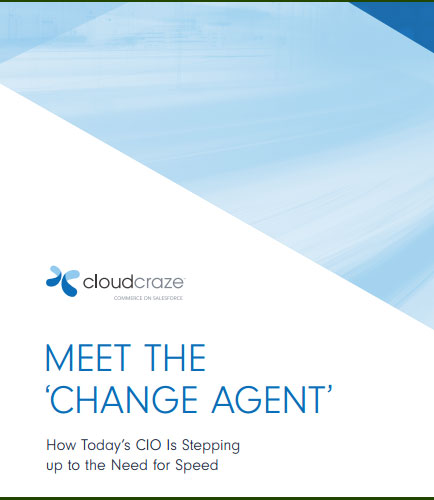 MEET THE 'CHANGE AGENT': How Today's CIO Is Stepping up to the Need for Speed